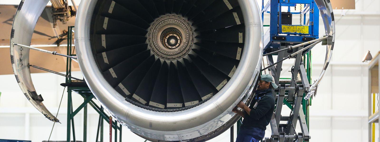 Kostenfaktor, aber auch Einnahmequelle: Cargolux verdiente mit Wartungen an Drittflugzeugen letztes Jahr rund 23 Millionen US-Dollar.