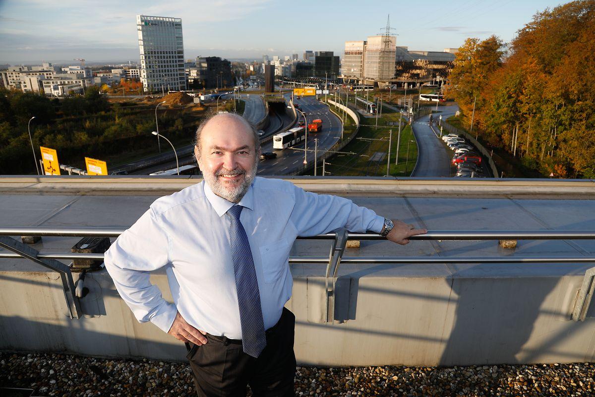 Directeur général de Luxtram depuis 2014, André von der Marck, souligne les nombreux défis de la création d'un réseau étoffé de lignes de tram. Dans la capitale et en-dehors.