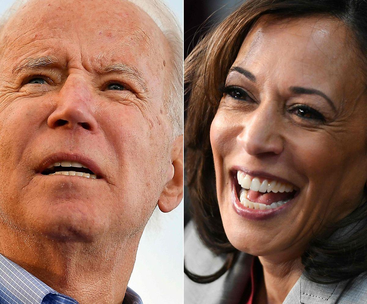 Joe Biden vertraut auf Kamala Harris als Stellvertreterin.