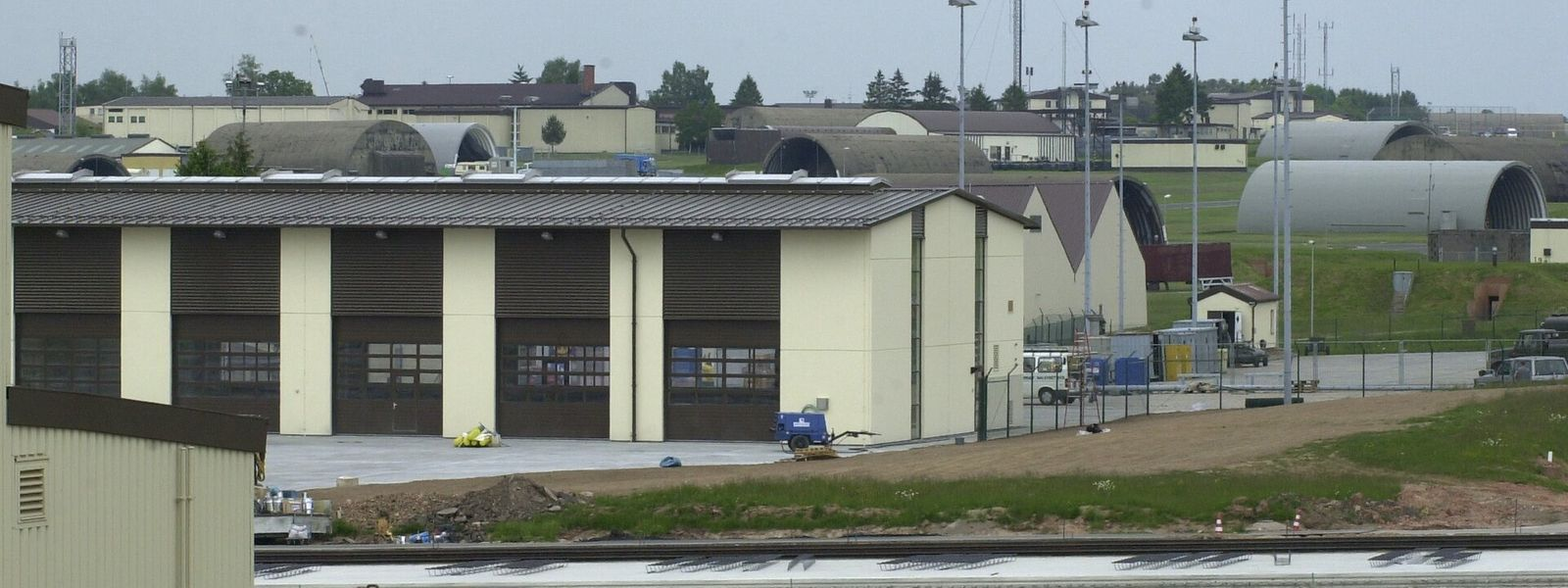 Die US-Airbase in Spangdahlem in der Eifel.
