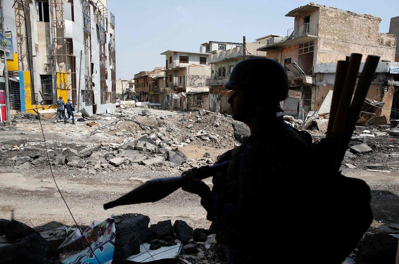 Die irakische Armee hatte im Januar eine Offensive begonnen, um mehrere Orte in der Provinz im Westen des Iraks von der Terrormiliz zurück zu erobern.