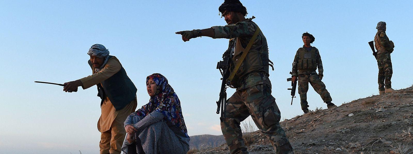 Die Regierungstruppen können die Taliban kaum aufhalten.