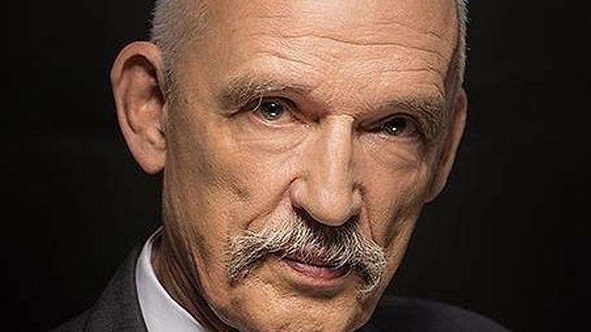 Janusz Korwin-Mikke, député polonais