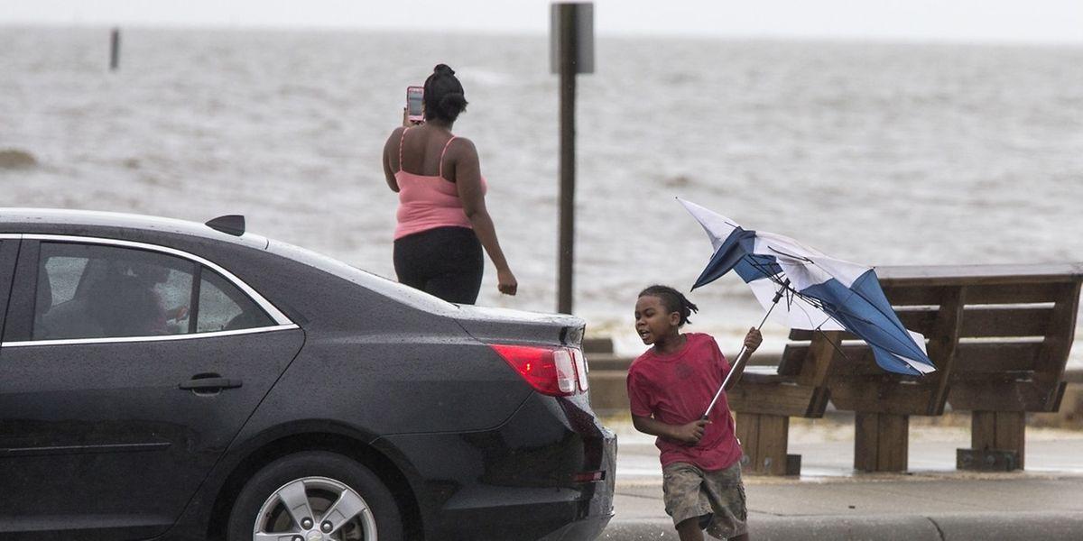 Es stürmt an der US-Golfküste, doch die Einwohner waren auf Schlimmeres vorbereitet.