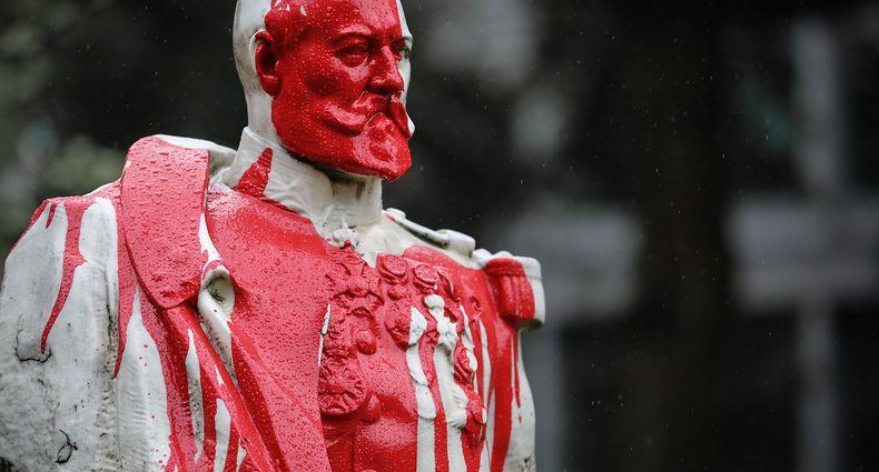 Politik, Kolonialherrschaft Belgien, Denkmal general Storms, Brüssel, Foto: Guy Wolff/Luxemburger Wort