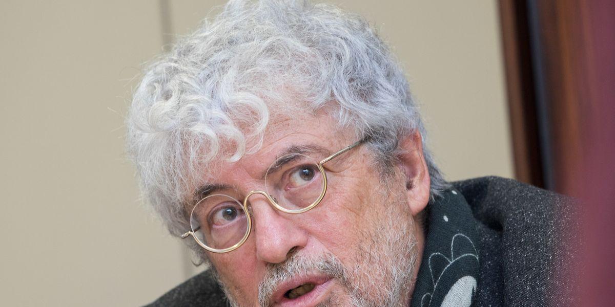 """""""Wir sind wie ein Kieselstein, der im Schuh zwickt"""", sagt Gilbert Pregno von der Commission Consultative des Droits de l 'Homme."""