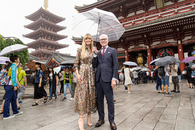 Heidi und Tim waren auch in Japan unterwegs.
