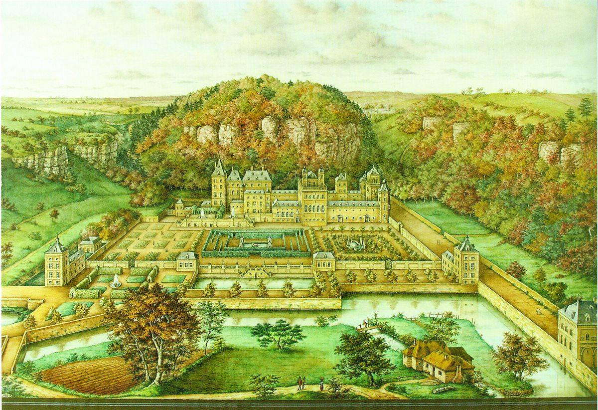 """How the Château de Mansfeld known as """"La Fontaine"""" looked in its heyday Photo: Mouvement écologique"""
