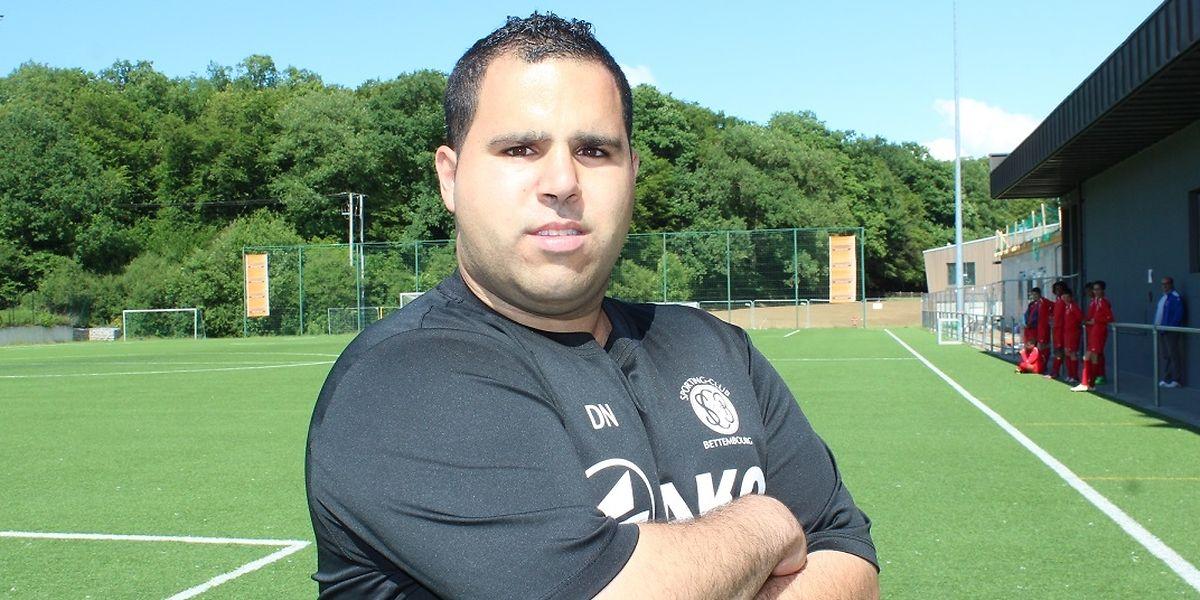 Daniel Nunes ambiciona chegar a treinador principal da equipa sénior masculina