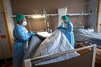 Lokales,Die Arbeit des Pflegepersonals in Corona-Zeiten,CHL,Klinik,Hospital,Foto: Gerry Huberty/Luxemburger Wort