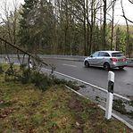 Tempestade. Luxemburgo em alerta amarelo no domingo