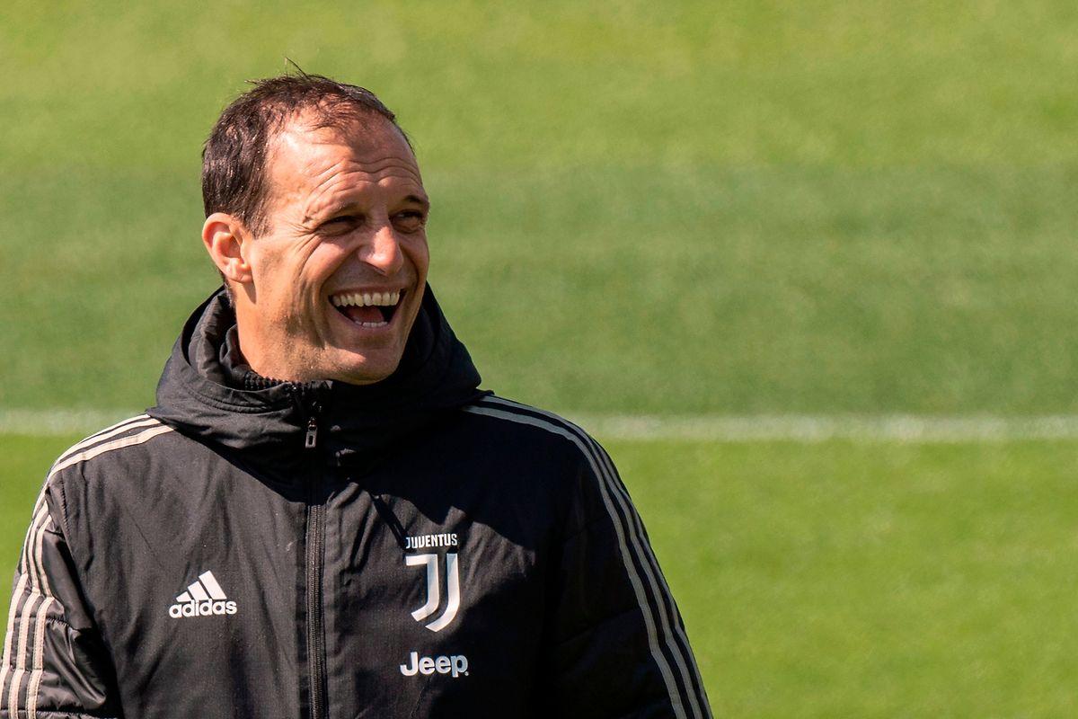 Le coach de la Juventus Turin, Massimiliano Allegri est allègre avant d'en découdre avec l'Ajax Amsterdam