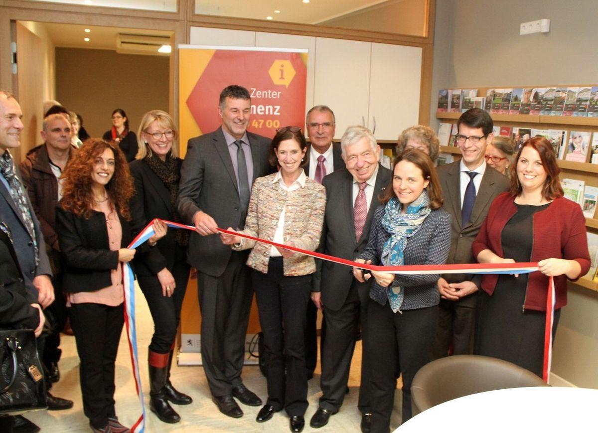 Les ministres Corinne Cahen et Lydia Mutsch ont inauguré les locaux ce mercredi