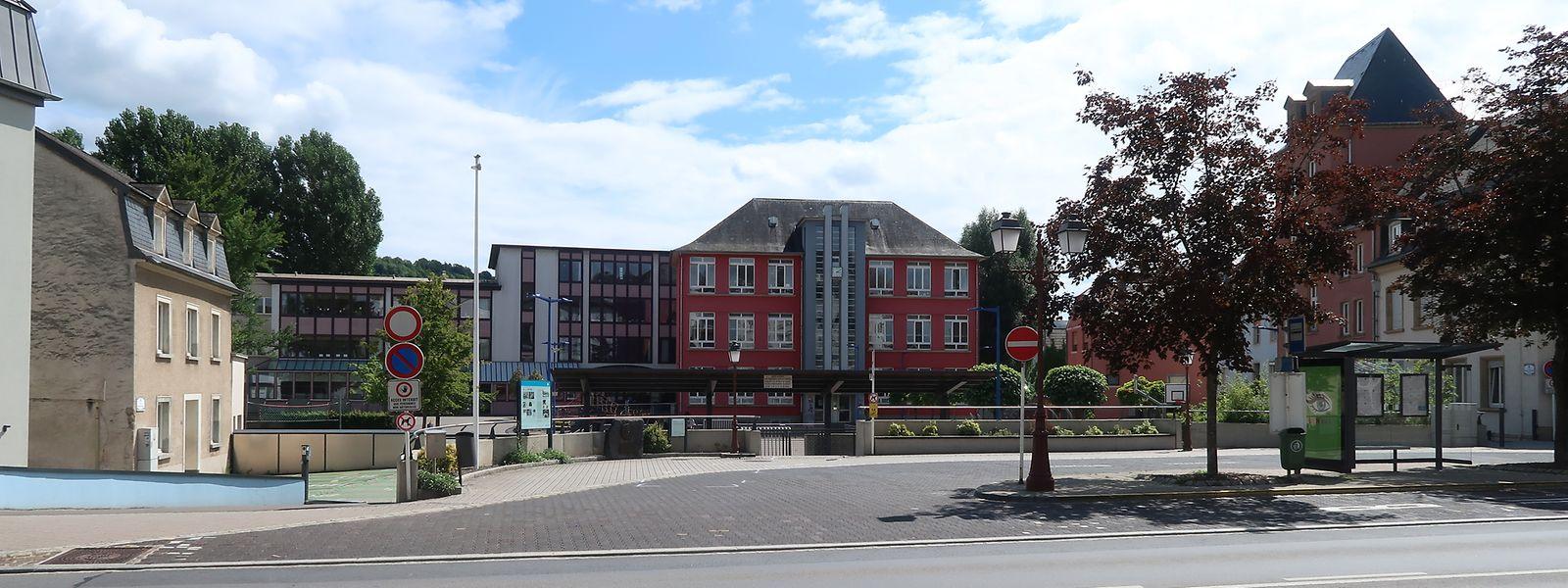 O dramático incidente ocorreu na Praça Marie-Thérèse em Ettelbruck.