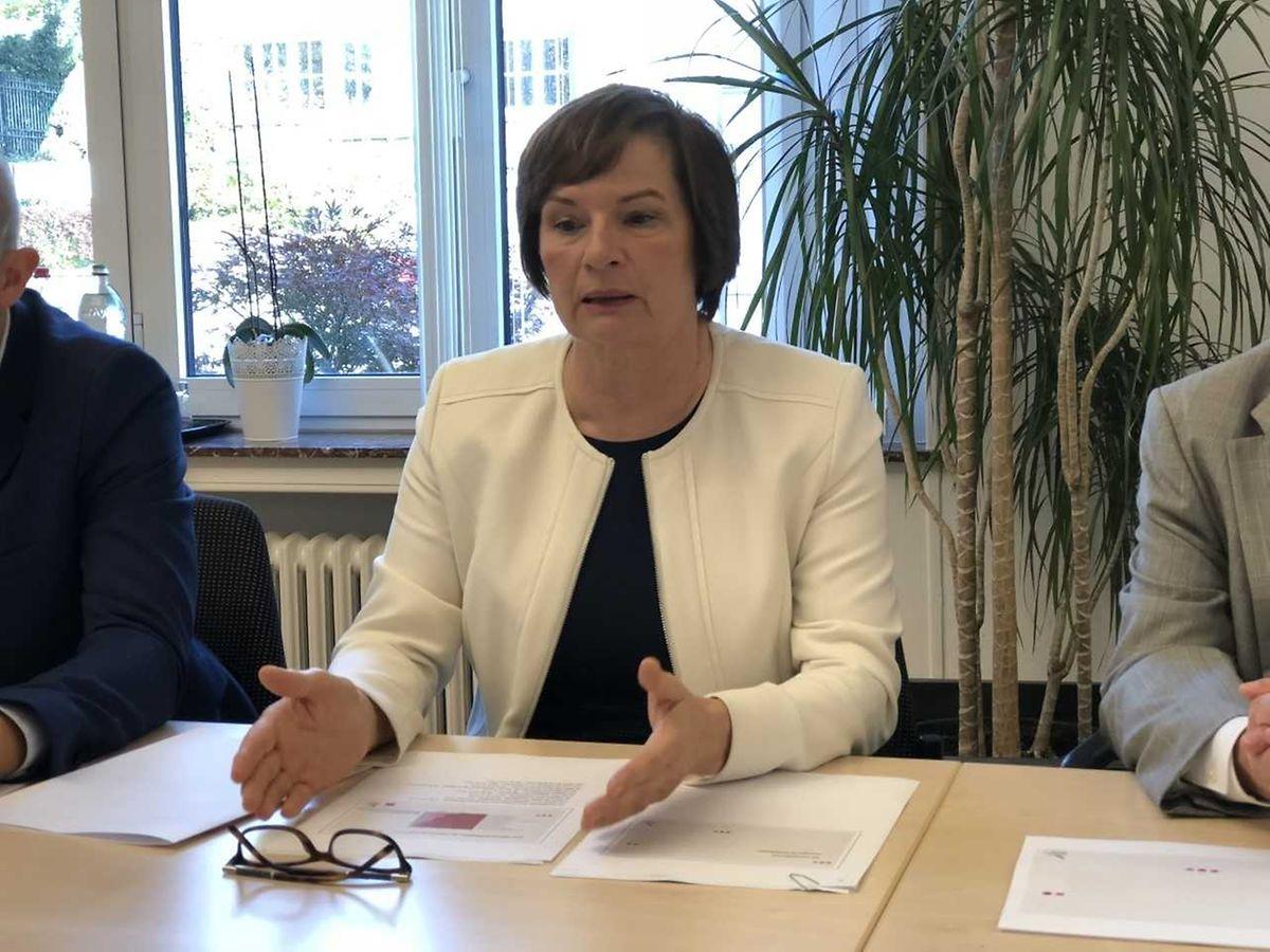 Lucienne Tommes, Direktionsbeauftragte der Fondation Cancer.