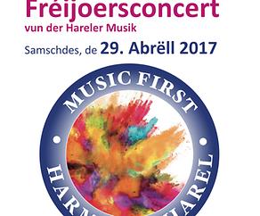 Fréijoersconcert Harmonie Harel