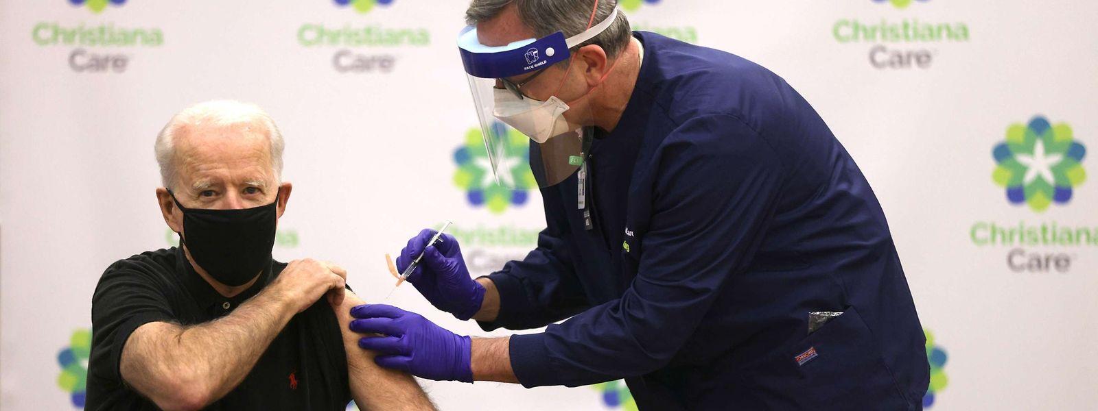 Parmi les récents vaccinés anti-covid aux USA figure le président élu des Etats-Unis, Joe Biden.