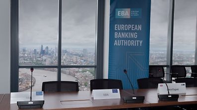View over London from the EBA offices, an EU agency that Luxembourg is making a bid for.