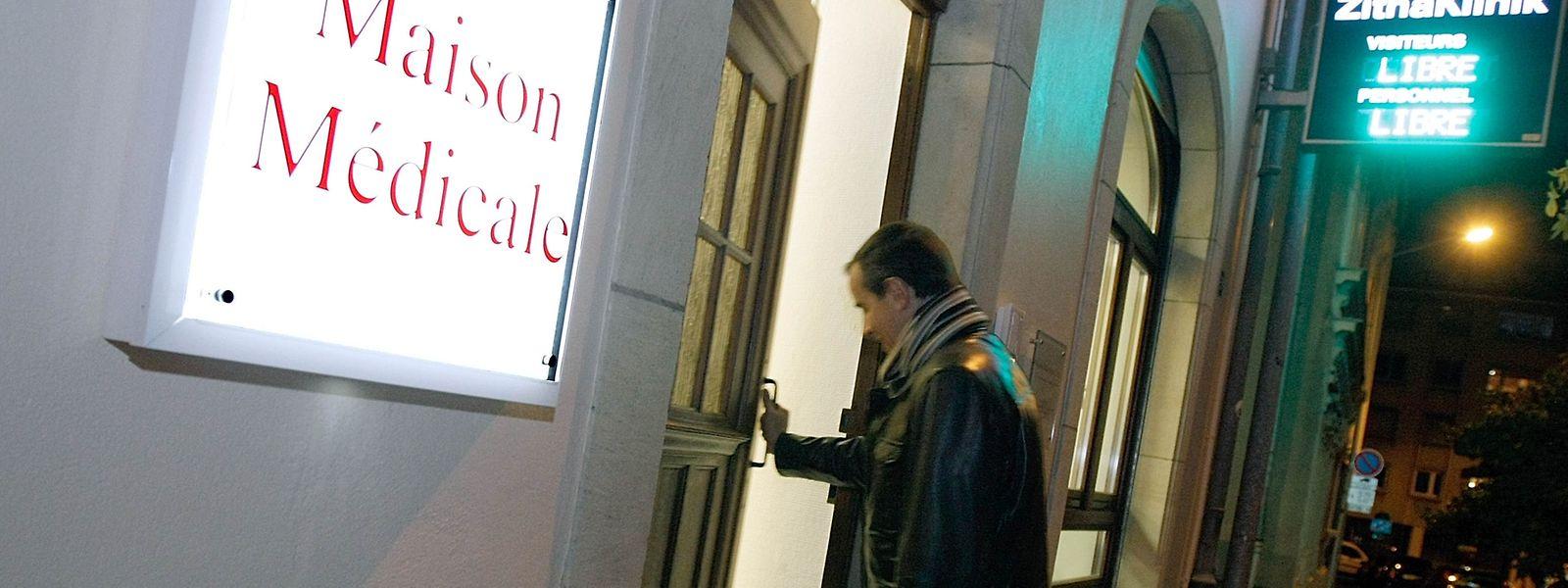 """In Luxemburg gibt es eine """"Maison médicale"""" in der Hauptstadt, in Esch/Alzette und in Ettelbrück."""