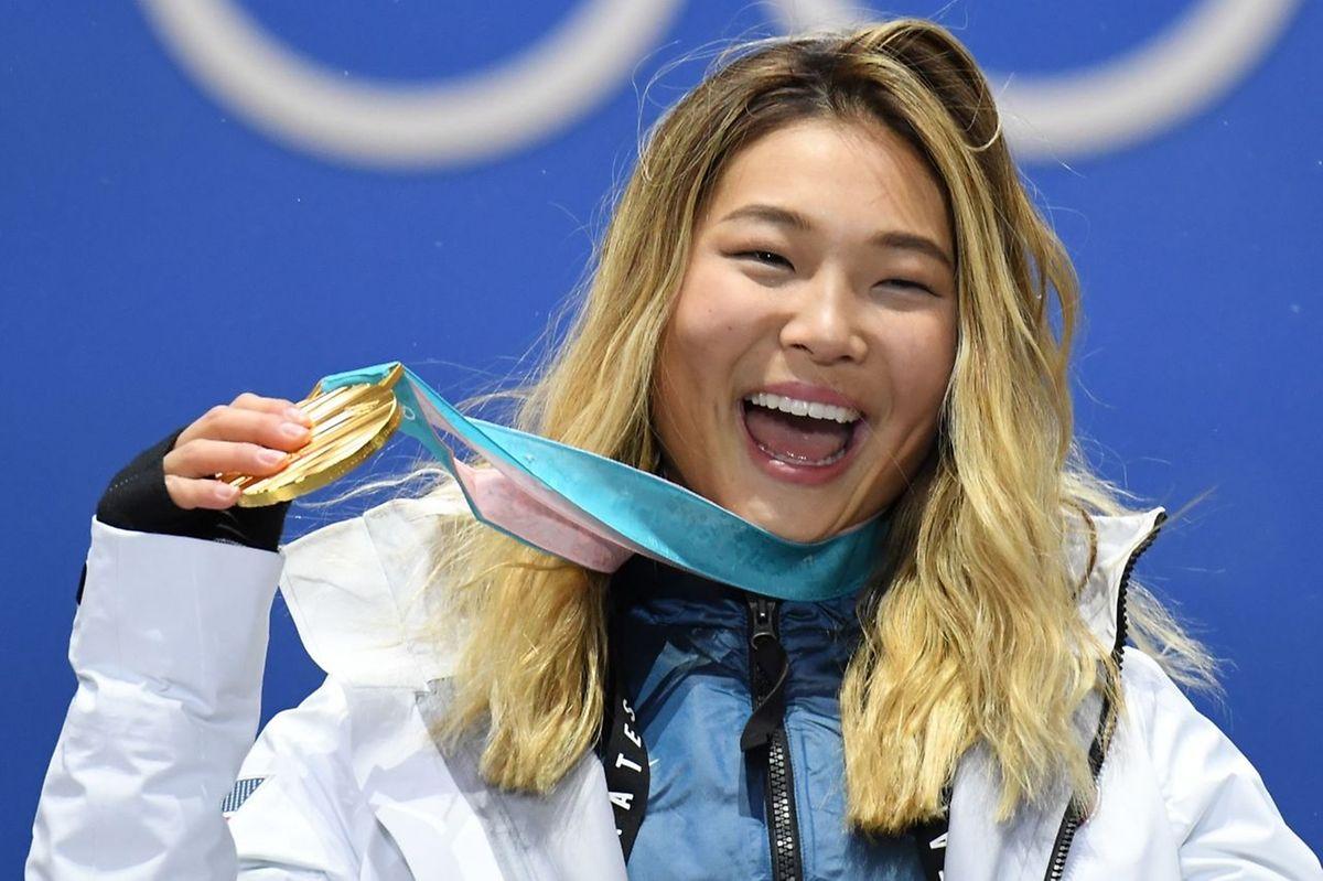La snowboardeuse américaine Chloe Kim a décroché à 17 ans son premier titre olympique