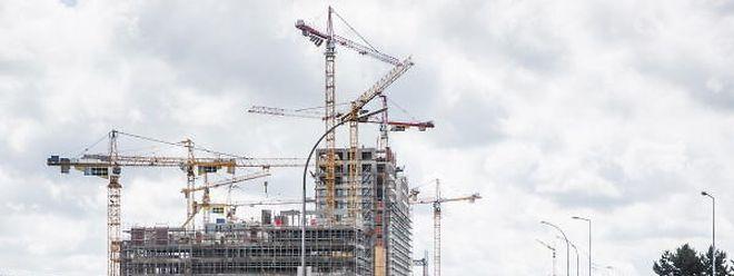 Laut Angaben des Statistikamts Statec verzeichnet der Bausektor in Luxemburg eine positive Wachstumsrate.