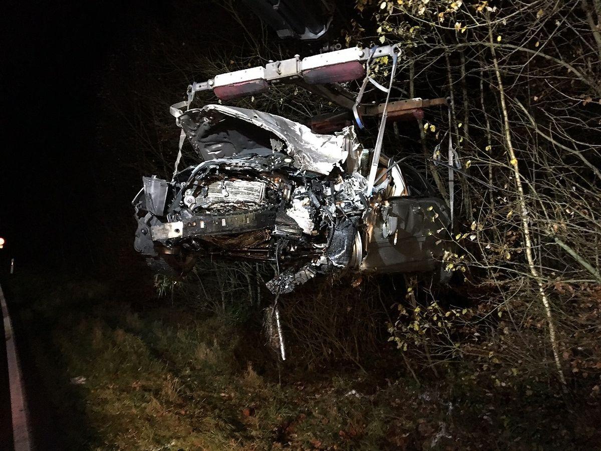 Drei Autos waren im Unfall verwickelt.