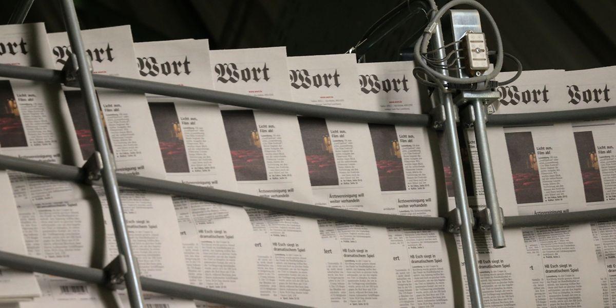 """Die Medienmarke """"Luxemburger Wort"""" erreicht täglich über 200.000 Leser - trotz Internet und """"e-paper"""" vor allem mit der gedruckten Zeitung."""