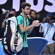 Gilles Simon a poussé Novak Djokovic à la limite. Mais le Français a cédé en cinq sets face au n°1 mondial qui se qualifie pour les quarts de finale.