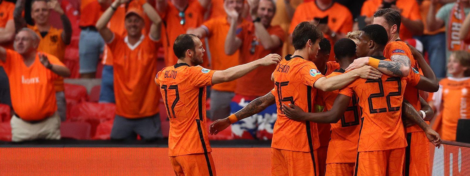 Für die Mannschaft der Niederlande läuft es momentan rund.