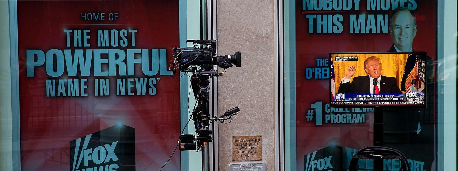 Fox News ist der ausdrückliche Lieblingssender des 45. US-Präsidenten.