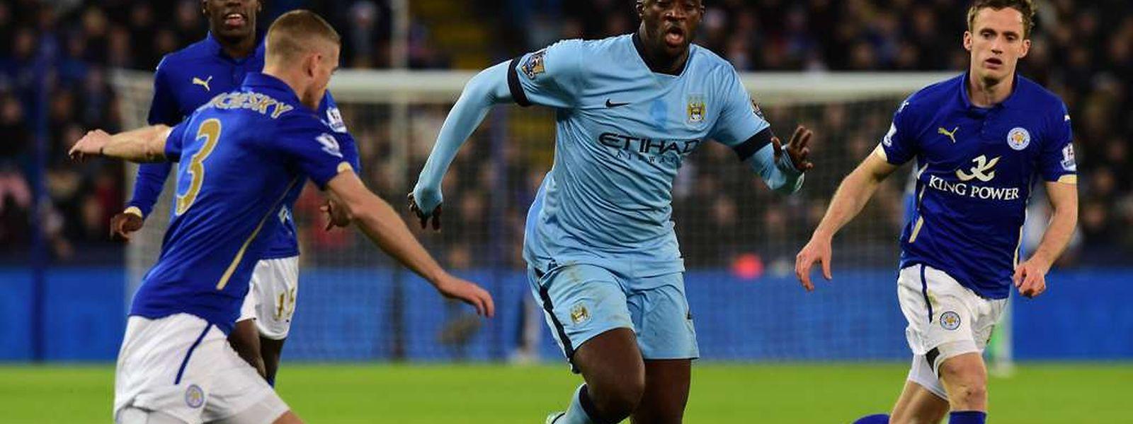 Yaya Touré und Manchester City trafen bereits in der vergangenen Saison im Achtelfinale auf den FC Barcelona. Damals schied der englische Verein aus.
