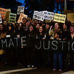 Marcha pelo Clima em Madrid. Milhares na rua seguem a ativista Greta Thunberg