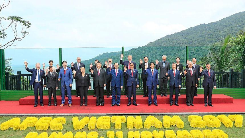 O encontro aconteceu ao abrigo do Fórum de Cooperação Económica da Ásia-Pacífico, no Vietnam