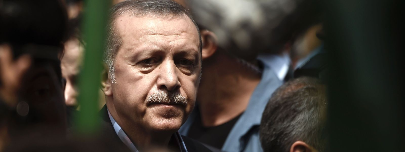 Präsident Erdogan nach dem Putsch.