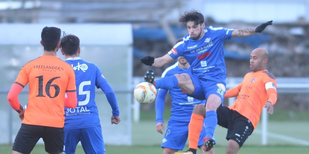 Junior Peixoto et l'US Esch ont remporté leur sixième victoire de la saison à Erpeldange.