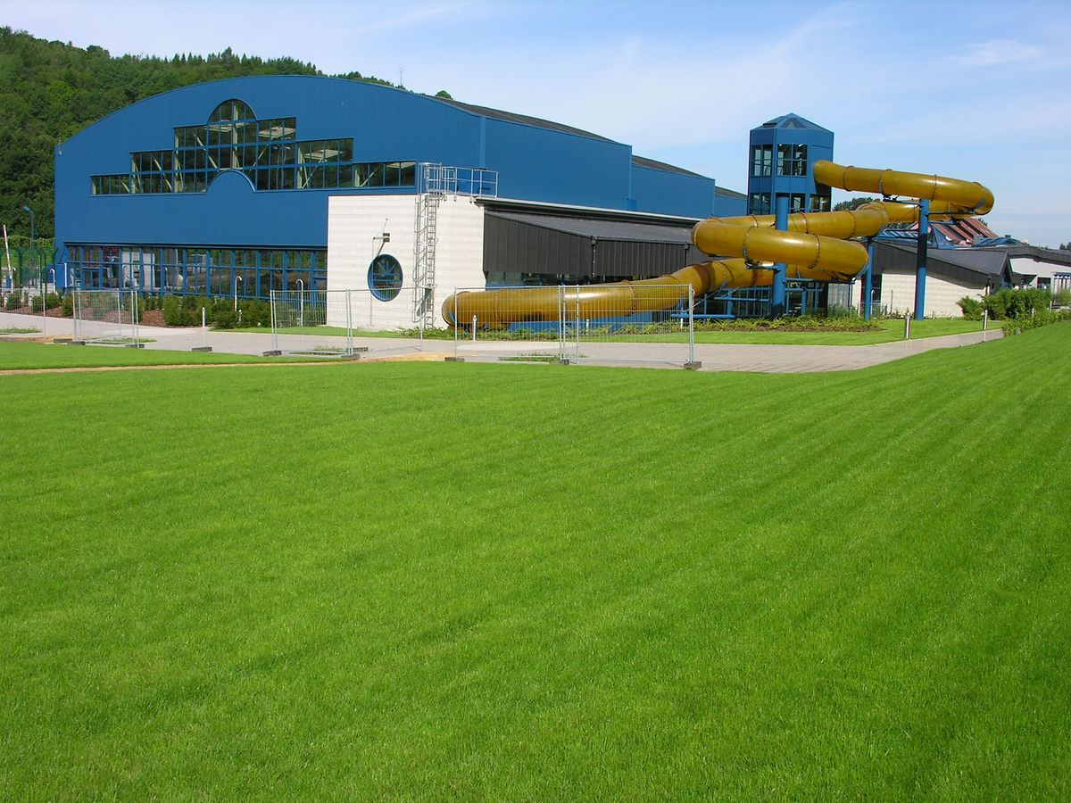 Au terme des travaux, le bassin olympique ne sera plus relié à la piscine via un toboggan géant
