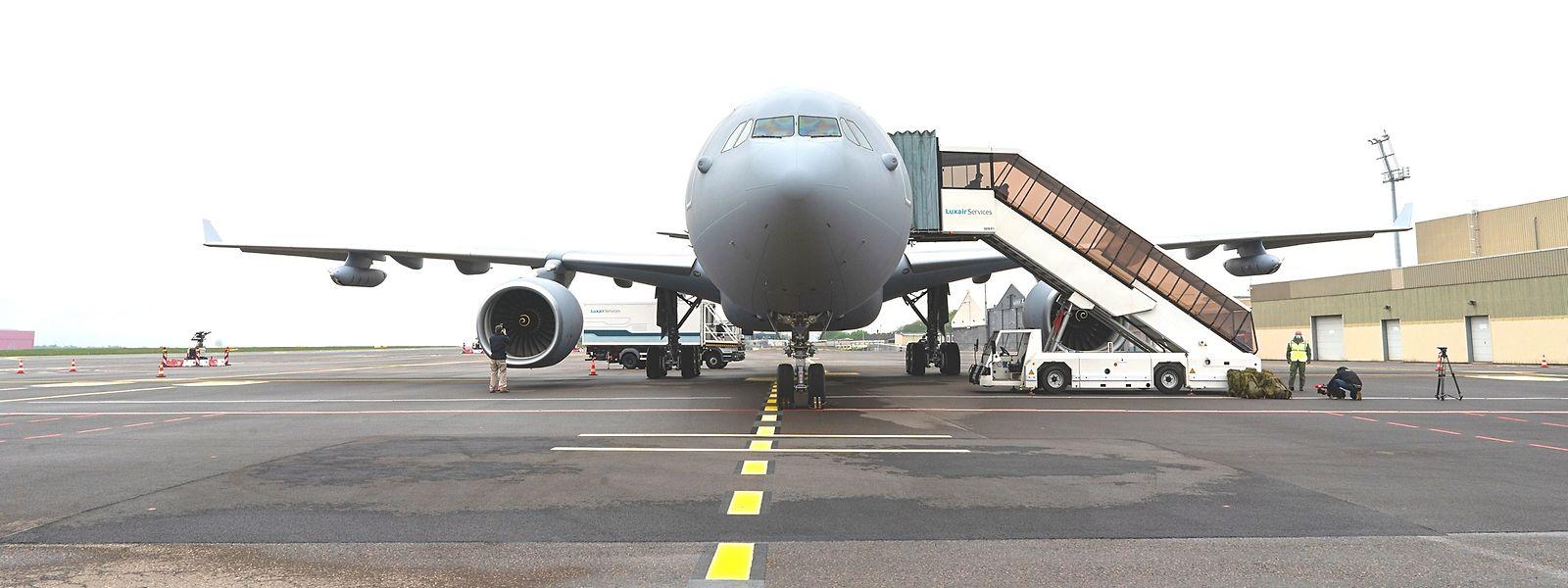 Ravitailleur autant que transporteur, l'Airbus A330 vient d'effectuer sa première mission pour les troupes luxembourgeoises.