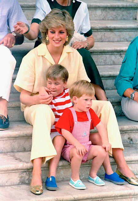 Harry und William vermissen ihre Mutter Diana jeden Tag.
