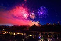 Le feu d'artifice sera tiré depuis le Pont Adolphe, au coeur de Luxembourg-Ville, à partir de 23 heures ce samedi.