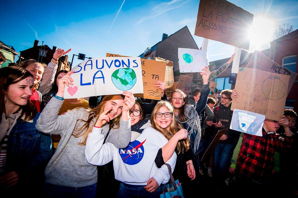 En Belgique, les jeunes se mobilisent pour le climat