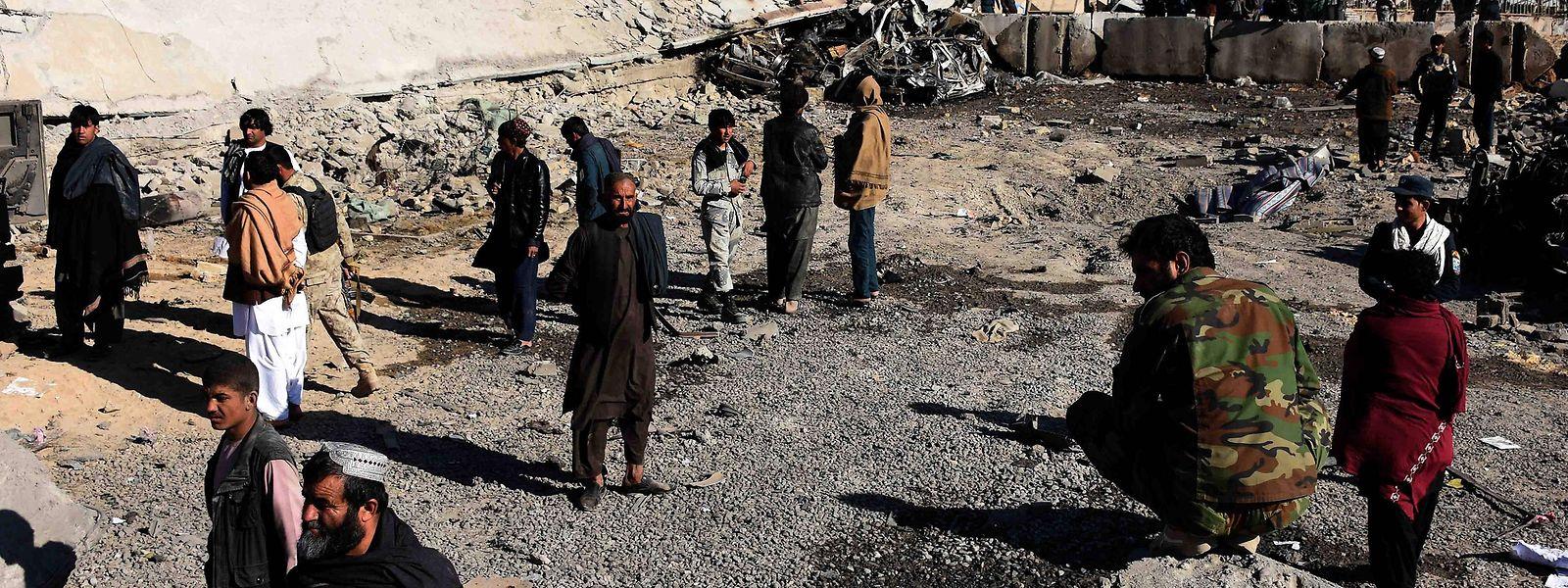 Die radikalislamischen Taliban legen landesweit Tausende solcher improvisierten Sprengsätze.