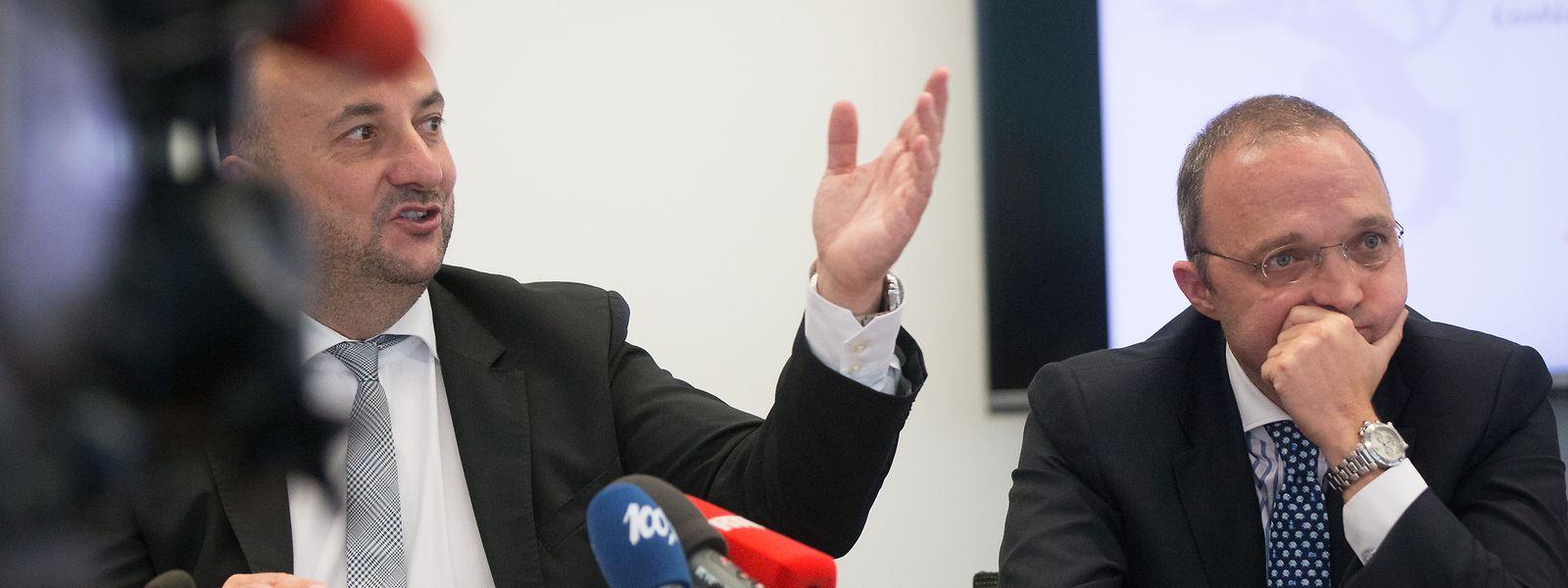 Annoncée en juillet 2016, l'implantation de l'usine Fage devait représenter un investissement de 227 millions d'euros et quelque 300 emplois, selon Etienne Schneider et les responsables de l'industriel grec.
