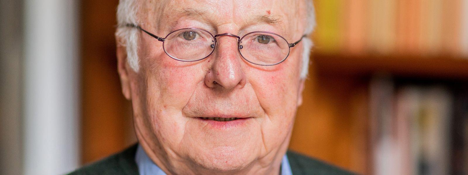 Norbert Blüm (CDU), ehemaliger Arbeits- und Sozialminister der Bundesrepublik Deutschland.