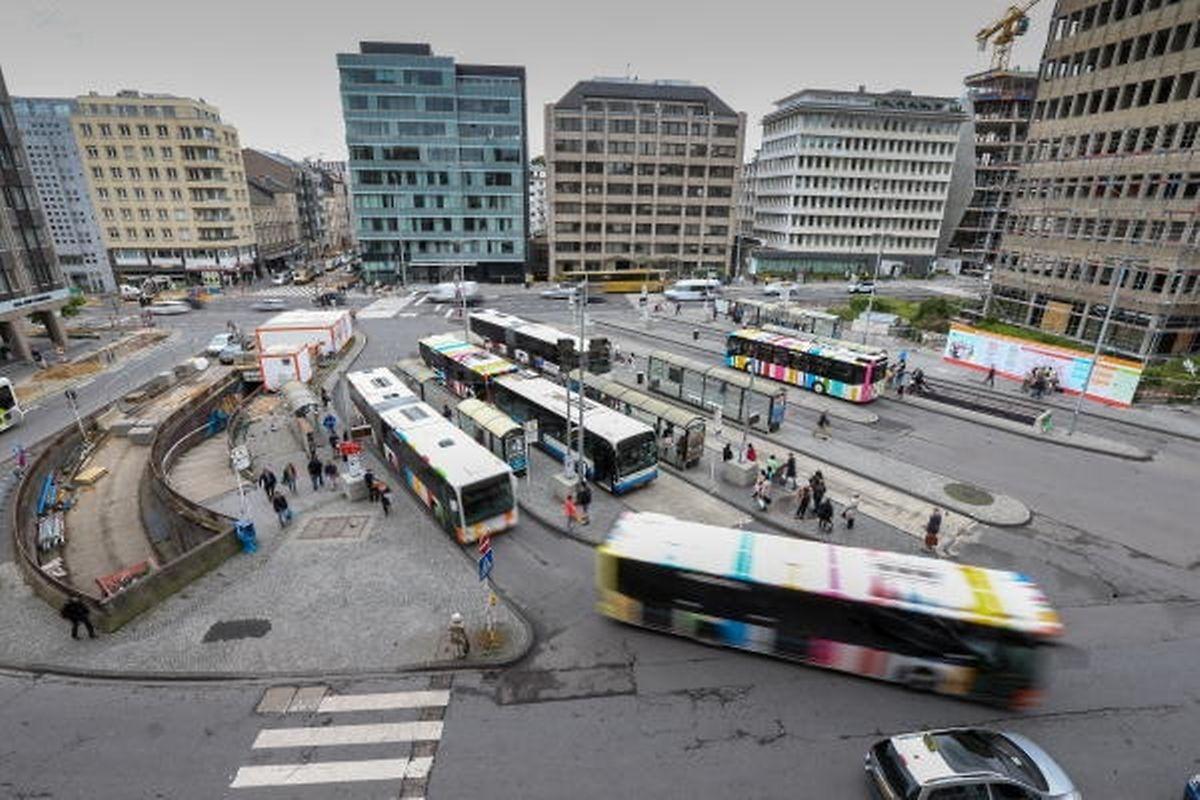 Der Busbahnhof Aldringen ist seit dem 1. Juni Geschichte. Dennoch ist der Super-Gau ausgeblieben.