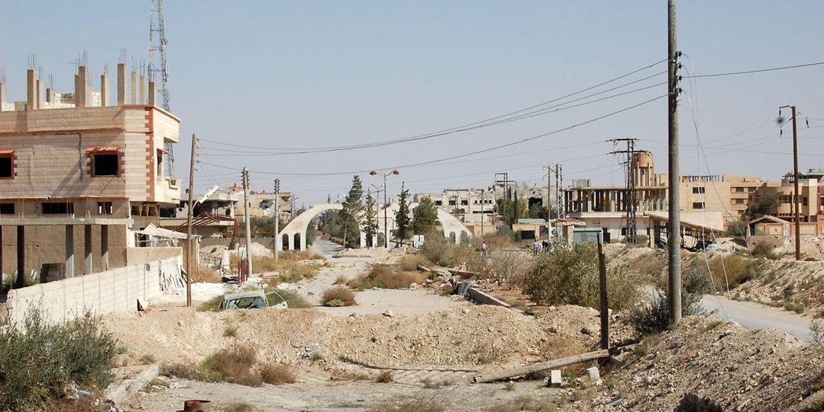 Die Extremisten hatten Al-Kariatain am 1. Oktober für knapp drei Wochen in ihre Gewalt gebracht.