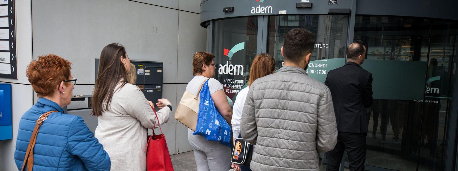 Plus de 16.000 personnes sont inscrites sur les listes de l'Adem pour janvier 2020.