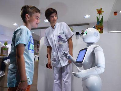 Ein Luxemburger Forscher hat ein Unternehmen gegründet, das soziale Roboter entwickelt. Sie können als Lernunterstützung z.B. bei autistischen Kindern eingesetzt werden.