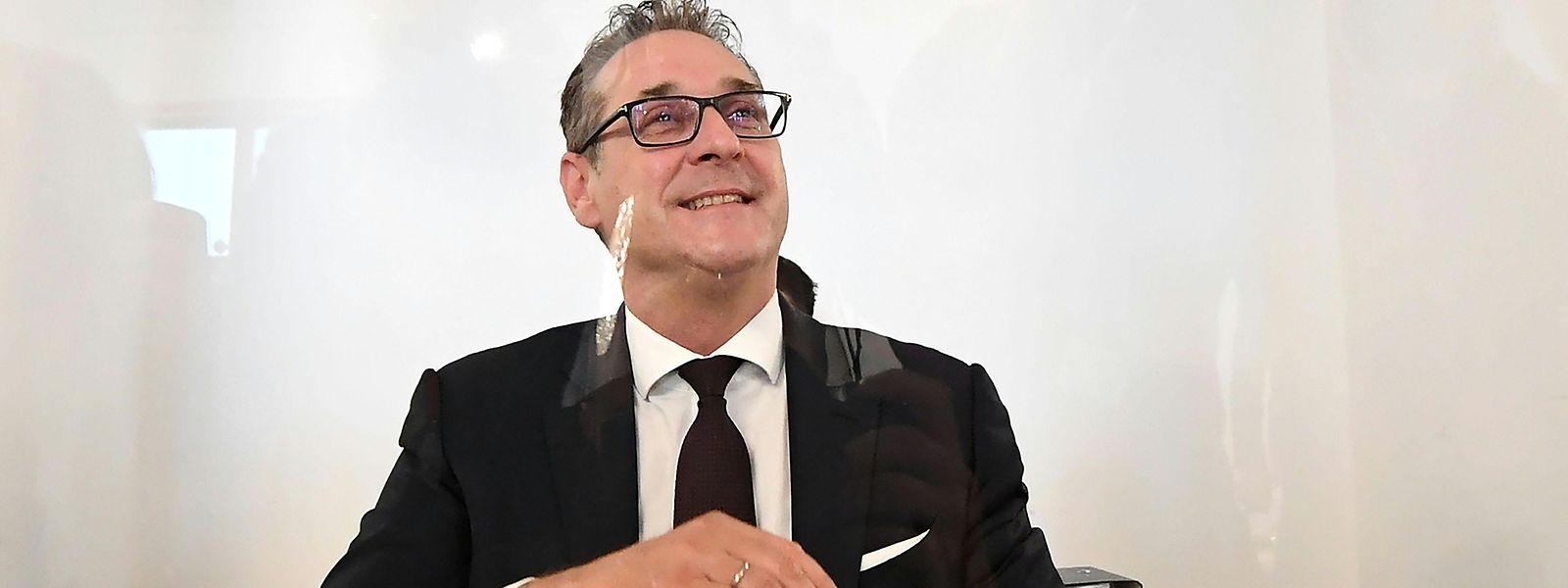 Heinz-Christian Strache am Donnerstag vor dem Untersuchungsausschuss.
