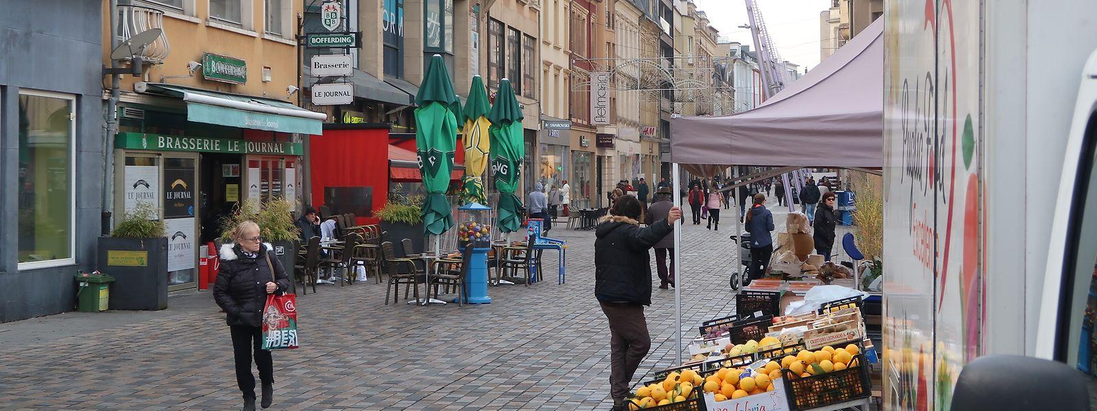 Die Escher Geschäftswelt und das Stadtzentrum sollen nach und nach aufgewertet werden.