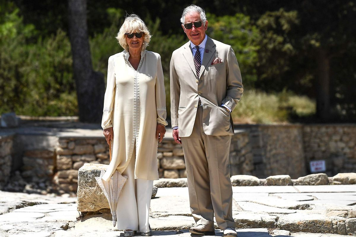 Prinz Charles zusammen mit seiner Frau Camilla.